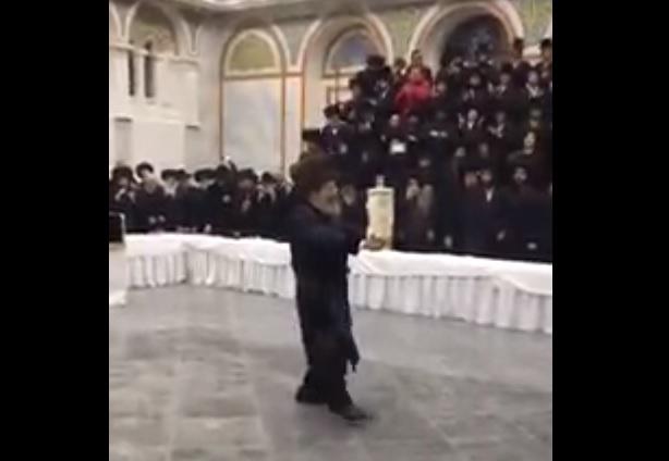 """ריקוד השמות של כ""""ק מרן אדמו""""ר מסאדיגורה באוקראינה"""