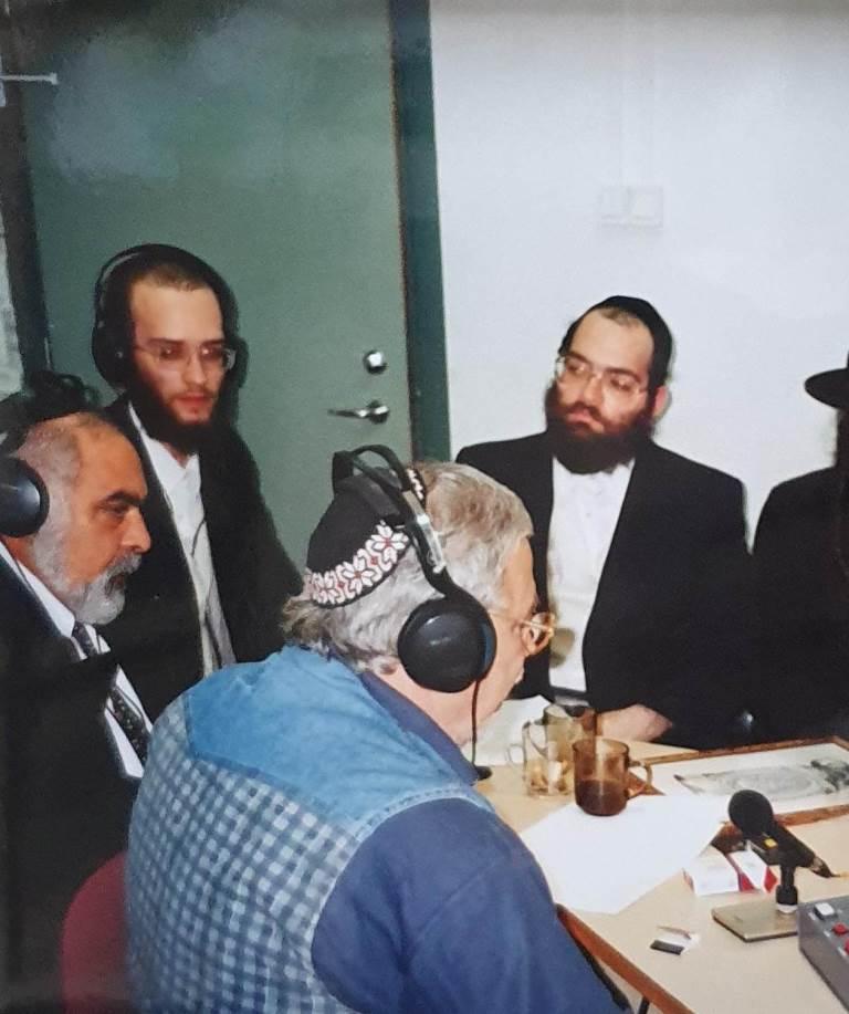 יהודה ברקן בשידורי שטפנשט
