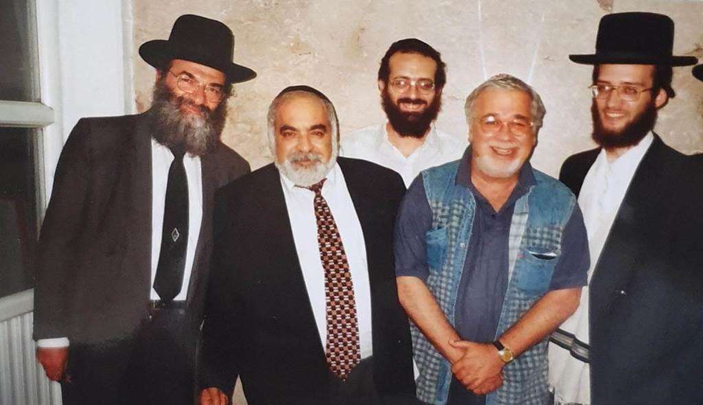 יהודה ברקן עם הנהלת מוסדות שטפנשט