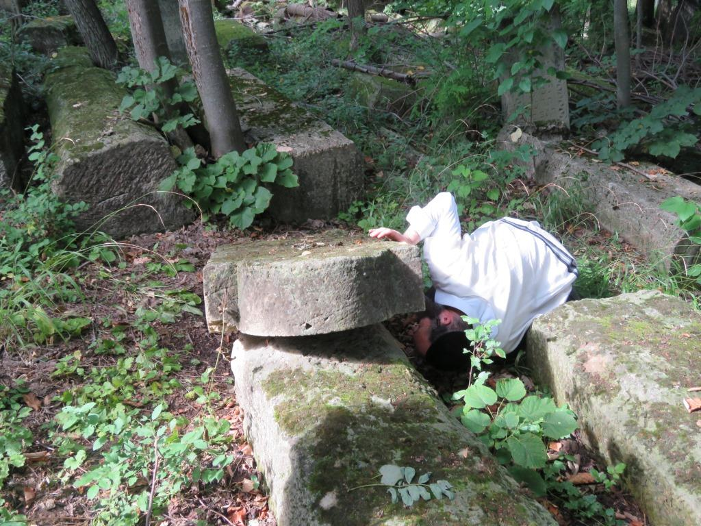 פאנעזעשט, חיפושים אחרי הקבר