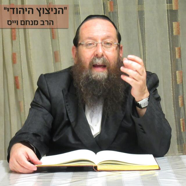 הרב מנחם וייס. מנהל רוחני שטפנשט אלעד