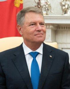 קלאוס יוהאניס. נשיא רומניה